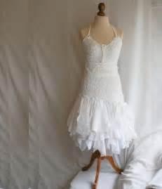 shabby chic style clothes wedding dress upcycled clothing tattered