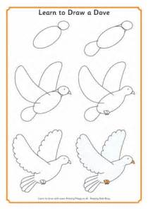 How To Make A Paper Dove Step By Step - peace day for