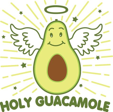 Holy Guacamole What Some People | quot holy guacamole quot stickers by detourshirts redbubble