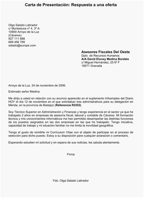 Modelo Carta De Presentacion Curriculum Argentina La Materia Paseante Modelos Textuales