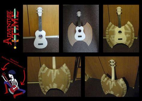 ukulele tutorial adventure time adventure time marceline s bass ukulele wip by