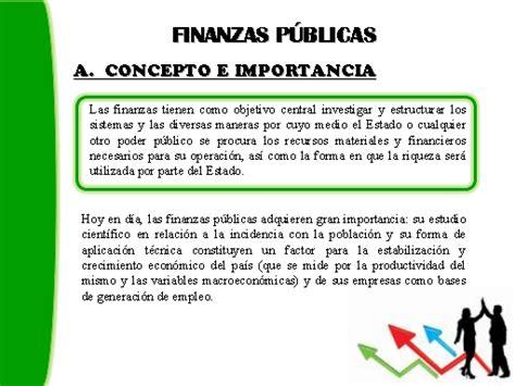 conceptos de finanzas ii principios de las finanzas p 250 blicas monografias com