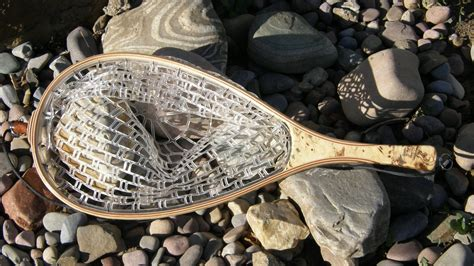 Handmade Fly Fishing Nets - made fly fishing landing net by bitterroot net co