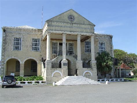 falmouth jamaica court house and post office photographs