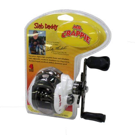 lews fishing mrcrappie slab daddy baitcast reel