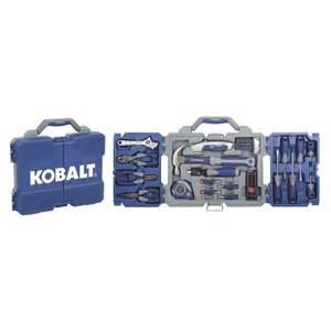 Lowes Patio Sets Shop Kobalt 69 Piece Tri Fold Home Tool Set At Lowes Com
