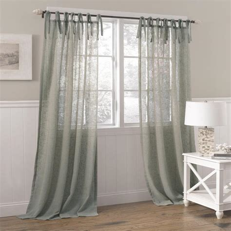 Sheer Linen Curtains Semi Sheer White Linen Curtains Curtain Menzilperde Net