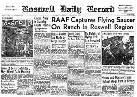 Roswell Nm Records Roswell Daily Record