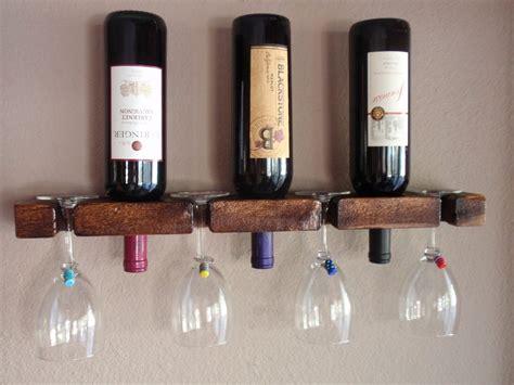 Wine Bottle Rack Diy by Easy Diy Wine Rack Pinteres