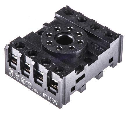 Relay Omron Mks2p 8pin pf083a e pf083a e 8 pin socket for mk relay omron
