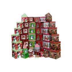 voila square nested christmas gift boxes polyvore
