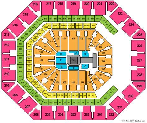 airways center seating chart