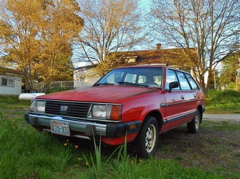subaru station wagon seattle s parked cars 1982 subaru gl wagon