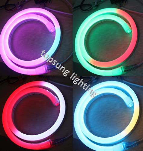 Idw058 Led Light Size 14 5 by 14 26mm Size Led Digital Neon Flex Light With Low Voltage