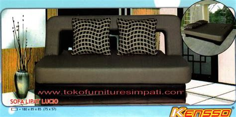 Sofa Santai Lipat sofa bed aisyahfurniture