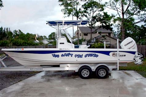scarab boat logo font boat signs graphics and lettering in fort pierce fl