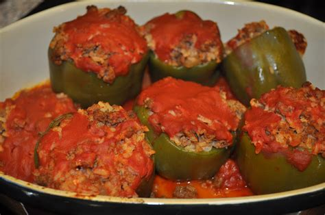 beth s favorite recipes stuffed peppers