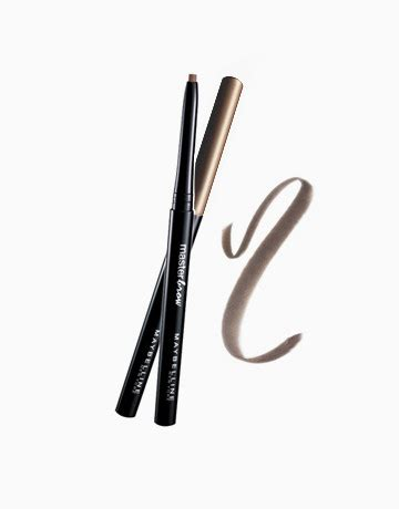 Maybelline Brow Mascara master brow liner by maybelline products beautymnl