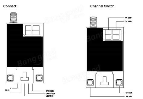 Rc832 48ch Receiver Fpv With Antena Cable Set ts832 transmitter wiring diagram 32 wiring diagram