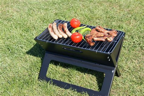 bbq grill picnic table folding grill cing table picnic laptopgrill collapsible