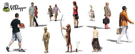 3d Home Architect Design Samples 14 old people photoshop cut out images walking people
