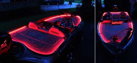 bass boat interior lighting led applications for your boat yacht houseboat sailboat