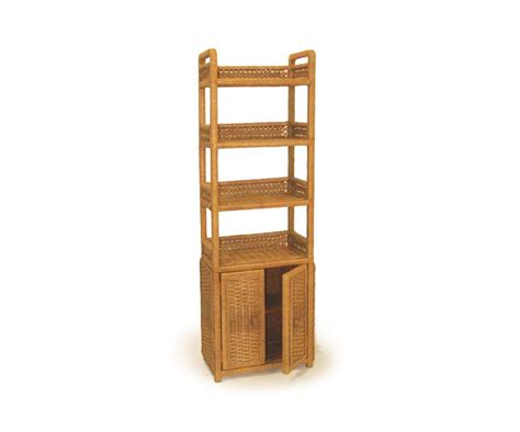 6tfs oblong wicker floor shelf
