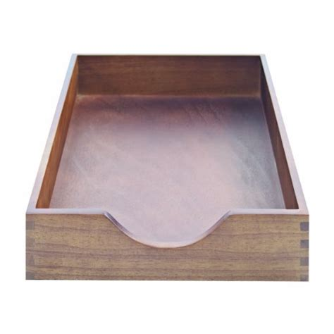 carver wood desk tray carver wood products hardwood stackable desk tray