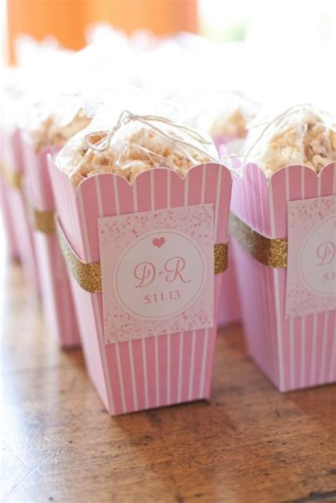 65 pink bridal shower ideas happywedd - Pink Wedding Shower Favors