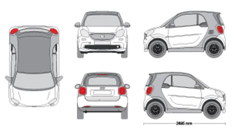 Mr Clipart Smart Car Wrap Template