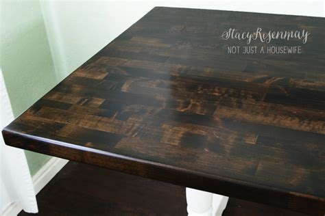How To Refinish A Dining Room Table by How To Refinish A Table Not Just A Housewife
