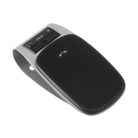 New Jabra Mini Black Original genuine jabra drive hfs004 bluetooth in car speakerphone