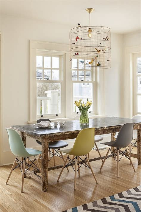 Unique Dining Room Lighting Decorating With Birdcages 30 Creative Ideas