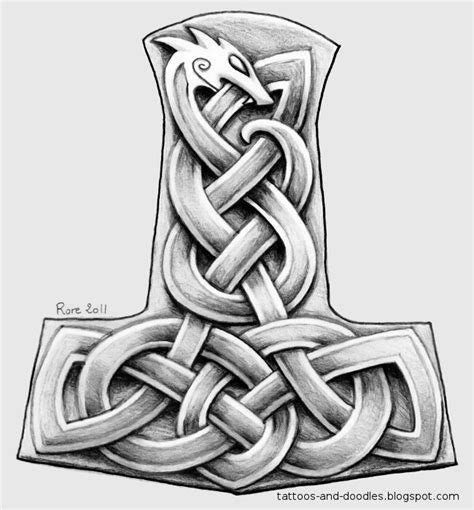 mjolnir tattoo designs 1000 ideas about hammer on tool