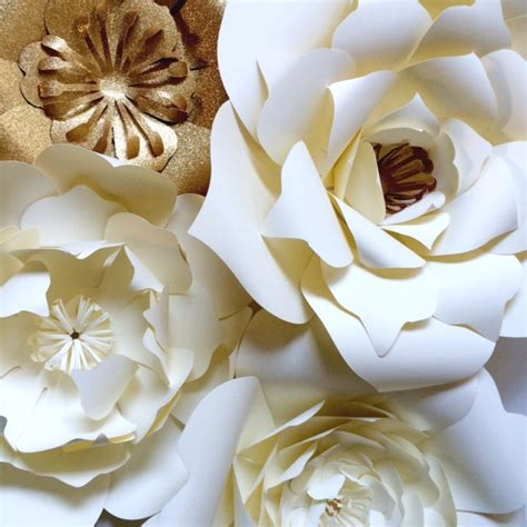 Large Paper Flowers - large paper flowers for events backdrops or home decor
