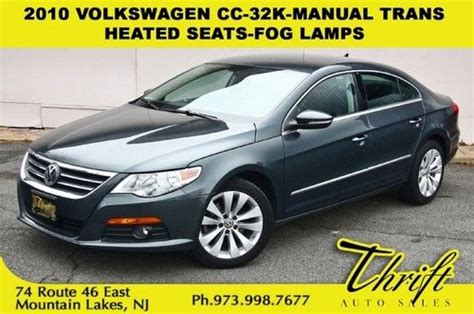 car manuals free online 2010 volkswagen cc auto manual purchase used 2010 volkswagen cc 32k manual trans heated seats fog ls in mountain lakes new