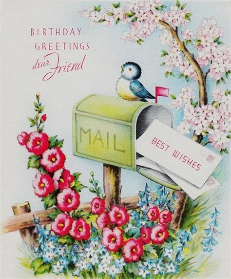 Greeting Card Birthday Friend 52 Best Happy Birthday Images Of All Time