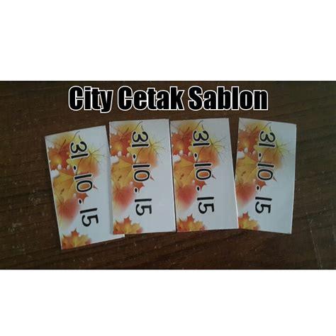 Stiker Murah By Echa Olshop cetak sticker murah di kota medan city cetak sablon