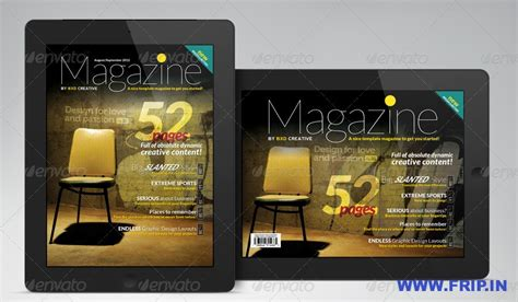 indesign digital magazine templates best 40 digital magazine templates for 2013 frip in