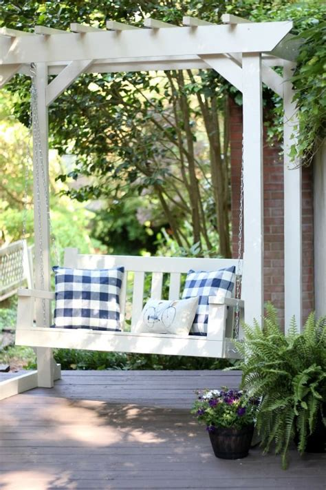 pergola porch swing 17 best ideas about pergola swing on pinterest outdoor