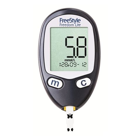 Glucose Meter buy freestyle freedom lite 1 ea by freestyle glucose meters priceline