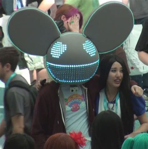 canadian electro house music producer dj and performer deadmau5 dead mouse canadian dj at ax 2012 by trivto on deviantart