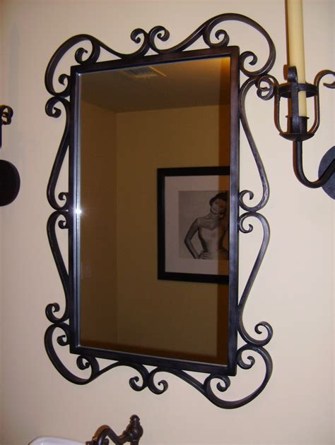 wrought iron bathroom mirror 71 best espejos images on pinterest mirrors wrought