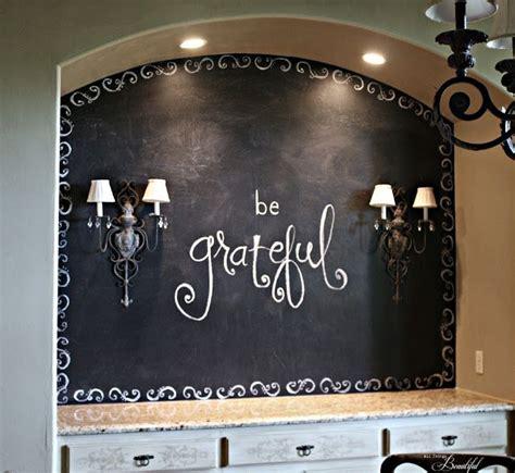 beautiful dining room chalkboard wall share craft diy home decor art niche home decor