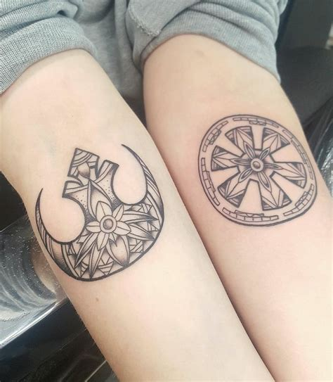 star tattoo for couples the 25 best ideas about star wars tattoo on pinterest