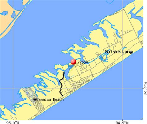 galveston texas zip code map galveston tx zip code map images