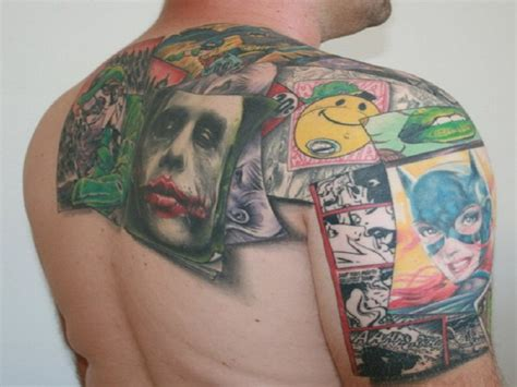 joker card tattoo colorful joker card tattoos inofashionstyle