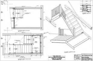 technische zeichnung treppe solidstructuraldrawings