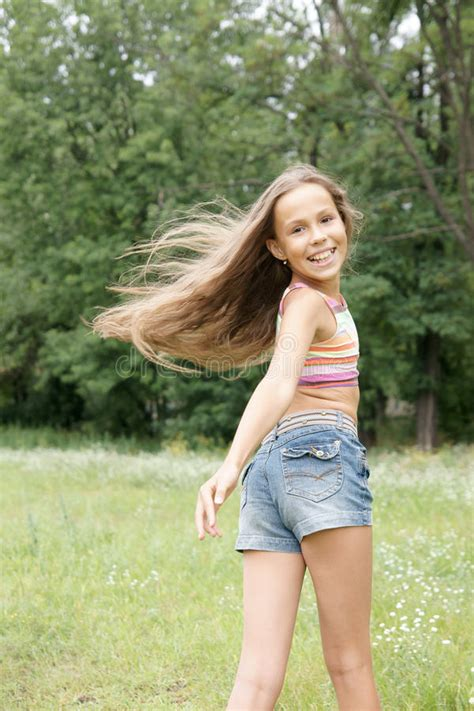 free preteen gallery happy preteen girl stock image image of spring caucasian
