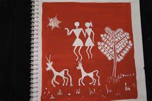 How Do You Draw A Vase Happy Paintings Favorite Warli Tarpa Dance